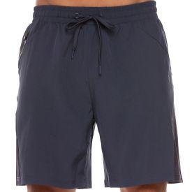Shorts Tactel com Bolso Zíper Scream Cinza