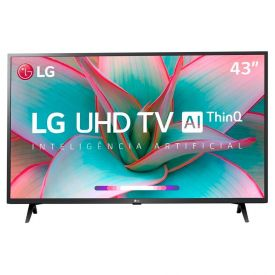 "Smart Tv Led 43"" 4K Uhd Lg 43Un7300psc - Bivolt"