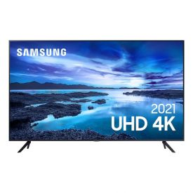 "Smart Tv Led 43"" Uhd 4K 43Au7700 Samsung - Bivolt"