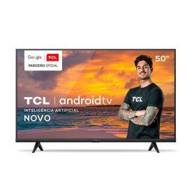 """Smart Tv Led 50"""" 4K Android P615 Tcl - Bivolt"""
