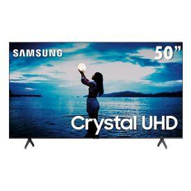 "Smart Tv Led 50"" 4K Crystal Uhd Samsung Tu7020 - Bivolt"