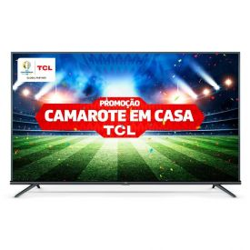 "Smart Tv Led 50"" 4K Hdr Android 50P8m Tcl - Bivolt"