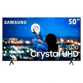 "Smart Tv Led 50"" 4K Crystal Uhd Tu7000 Samsung - Bivolt"