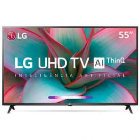 """Smart Tv Led 55"""" 4K Uhd Lg 55Un7310psc - Bivolt"""