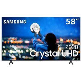 "Smart Tv Led 58"" 4K Crystal Uhd Samsung Tu7020 - Bivolt"