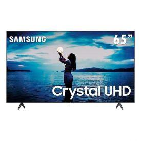 "Smart Tv Led 65"" 4K Crystal Uhd Samsung Tu7020 - Bivolt"
