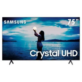 "Smart Tv Led 75"" 4K Uhd Samsung Tu7020 - Bivolt"
