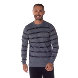 Suéter com Decote Redondo Marc Alain Mescla Escuro