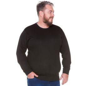 Suéter Plus Size Marc Alain Preto