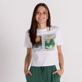 T-Shirt Cartas Misticas Boby Blues Branco