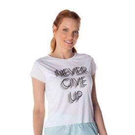 T-Shirt Dry Estampada Scream Branco