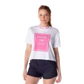 T-Shirt Feminina Gola Alta Scream