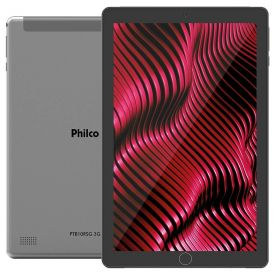 """Tablet 10"""" Com 3G Ptb10rsg Philco - Cinza"""