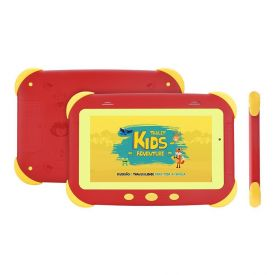 "Tablet 7"" Kids Adventure Dl - Vermelho"