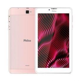 """Tablet 7"""" Ptb7srg Com Wi-Fi Philco - Rosa"""