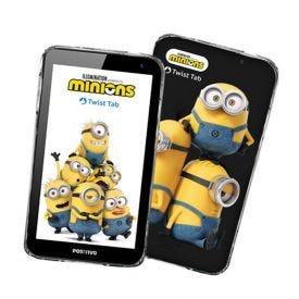 """Tablet Positivo Infantil Twist Tab Minions 7"""" Com Wi-Fi - Preto"""