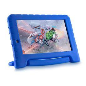 "Tablet Vingadores Plus 7"" Com Wi-Fi 16Gb Multilaser - Azul"