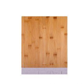 Tábua De Bambu Eco Com Mármore 35,5X28cm Sun Asia  - Natural