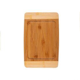 Tábua Para Corte 33X21x1,5Cm Finecasa - Bambu Ecológico