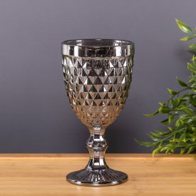 Taça De Água 325Ml Bico Abacaxi Lyor - Metalizado
