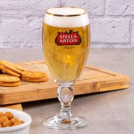 Taça de Cerveja Stella Artois 250ml Globimport - Vidro