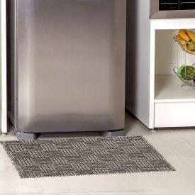 Tapete 50x90cm Eco-Nature para cozinha - Cinza