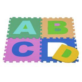 Tapete Alfabeto Com 26 Peças De E.V.A Yoyo Kids - TP009