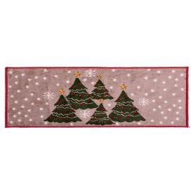 Tapete De Natal Renaissance 50X120cm - Pinheiro