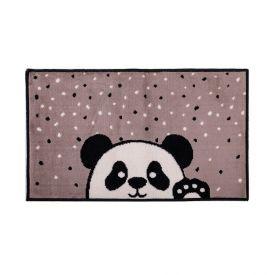Tapete Funny 57X1,00M Para Quarto J Serrano - Panda Preto