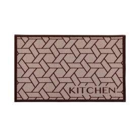 Tapete Napoli 50X70cm Antiderrapante Para Cozinha - Kitchen