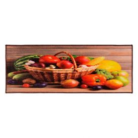 Tapete Para Cozinha Veneza 0,45X1,20M Havan - Cesta de Legumes