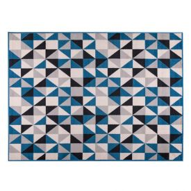 Tapete Renaissance 1,33X1,90M Quarto E Sala - Lisboa Azul