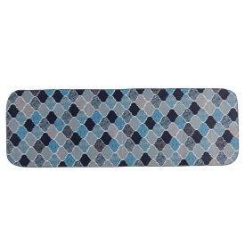 Tapete Tecil Passadeira 40X120 Havan - Turquia Azul