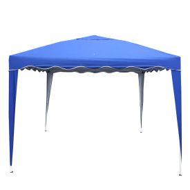 Tenda Gazebo Dobrável 3x3m Master Camping - Azul