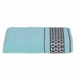 Toalha Banho 68X135 London - Azul Piscina