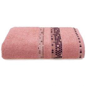 Toalha De Banho 70X135cm Prisma - Rose