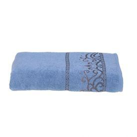 Toalha De Banho Dhara Karsten - Azul Fresh