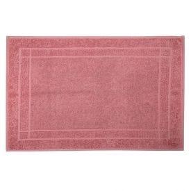 Toalha De Piso Sofisticata - Rosa Imperial Ilusione