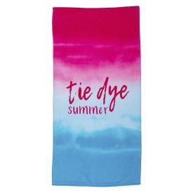 Toalha De Praia Aveludada Coteminas - Tie Dye Summer