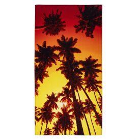 Toalha De Praia Karsten - Orange Coqueiros