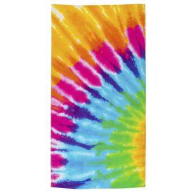 Toalha De Praia Karsten - Pastel Tie Dye