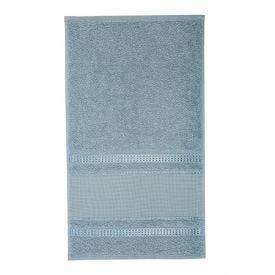 Toalha Lavabo Para Bordar Capricho - Inverno Azul