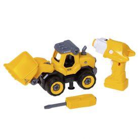 Trator De Construção Com Controle Remoto City Machine Multikids - BR1081