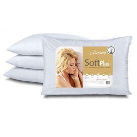 Travesseiro 50x70cm Suporte Médio Soft Plus Altenburg - DIVERSOS