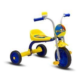 Triciclo Aro 5 You 3 Rodas Boy Nathor - Amarelo