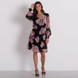 Vestido Lastex Floral Patricia Foster Estampado 1
