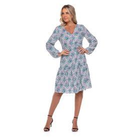 Vestido Maria's Pontinhos Boby Blues Pontinhos Colors