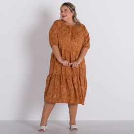 Vestido Plus Size Marias Patricia Foster Mais Paisley