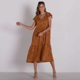 Vestido Recorte Maria Patricia Foster Caxemira