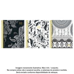 Agenda Espiral Planner Back To Black Foroni - 56.7866-7
